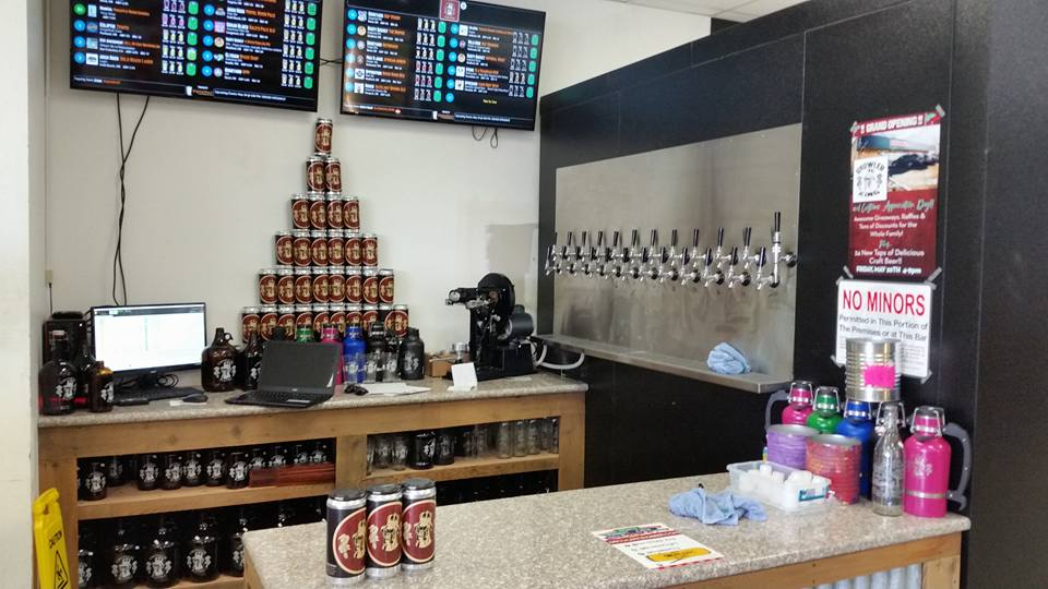 Central Point, Oregon growler fill station Grand Opening Month
