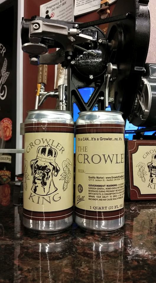 Central Point, Southern Oregon Craft Beer Growler Fill Station