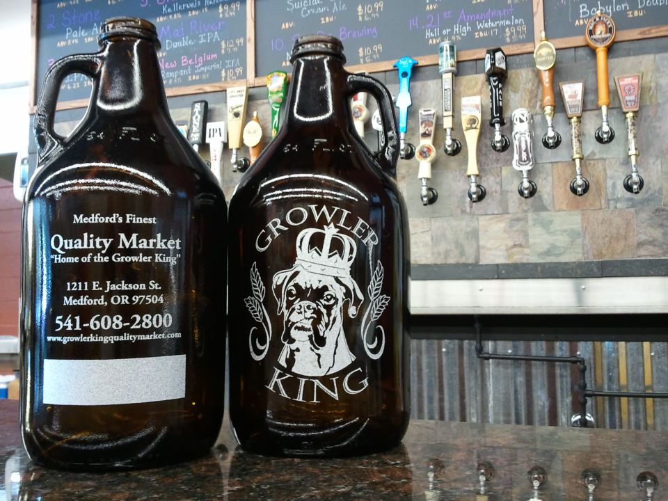 beer growler fills central point oregon