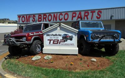 Tom's Bronco Parts Show & Shine