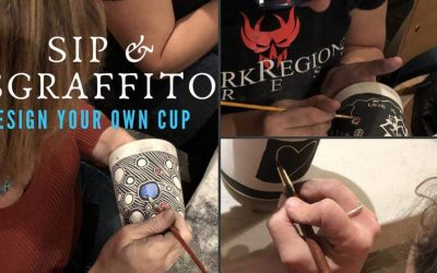 Sip and Sgraffito Design your own Pint